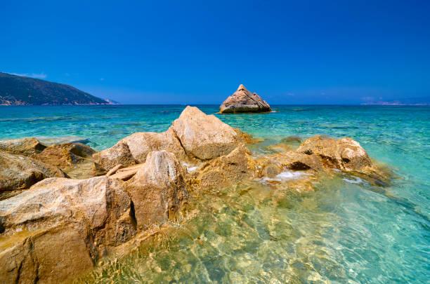 Strand von Agia Kyriaki - Kefalonia – Foto