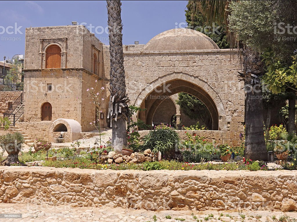 Agia Napa Monastery stock photo