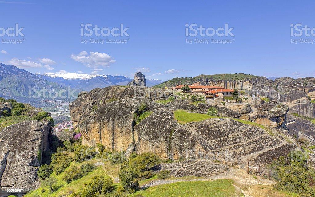 Agia Triada monastery, Meteora, Greece royalty-free stock photo