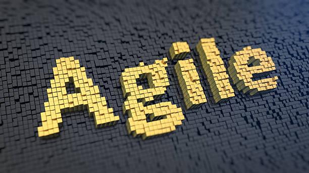 Cubics agile - foto stock