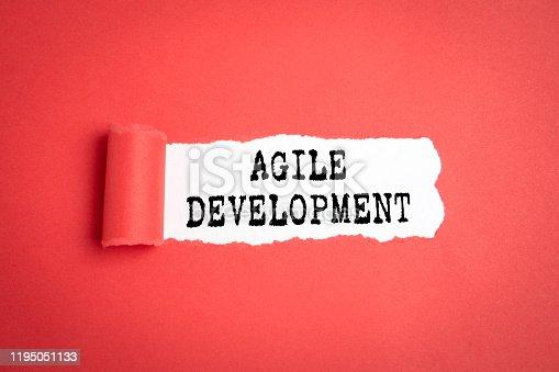 542587790 istock photo Agile Development. Business, Skills, Leader and Success concept 1195051133