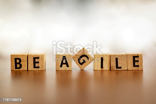 1144568493 istock photo Agile metodologhy concept with letters 1191746474