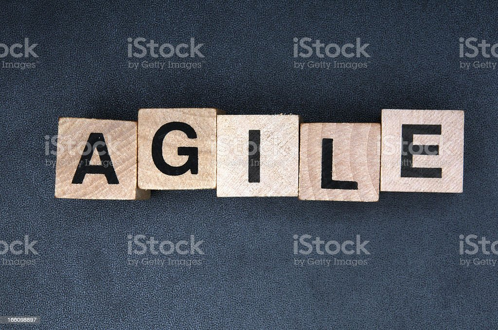 Agile stock photo