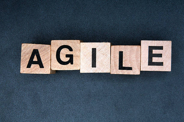Agile - foto stock