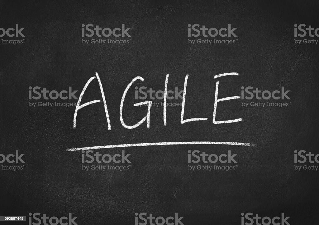 agile stock photo
