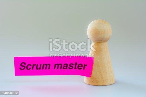 istock agile scrum master pawn 940540168