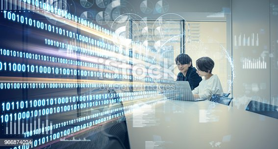 861122560 istock photo Agile software development concept. 966874024