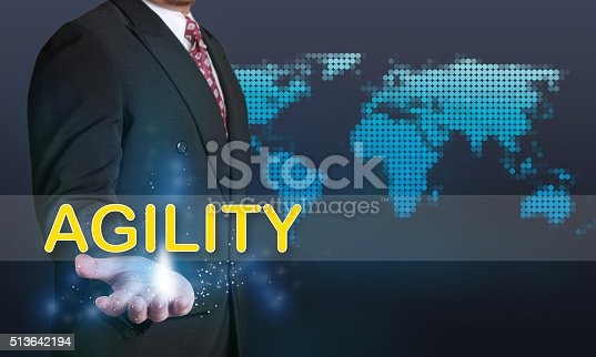 1144568493 istock photo Agility, Business Concept 513642194