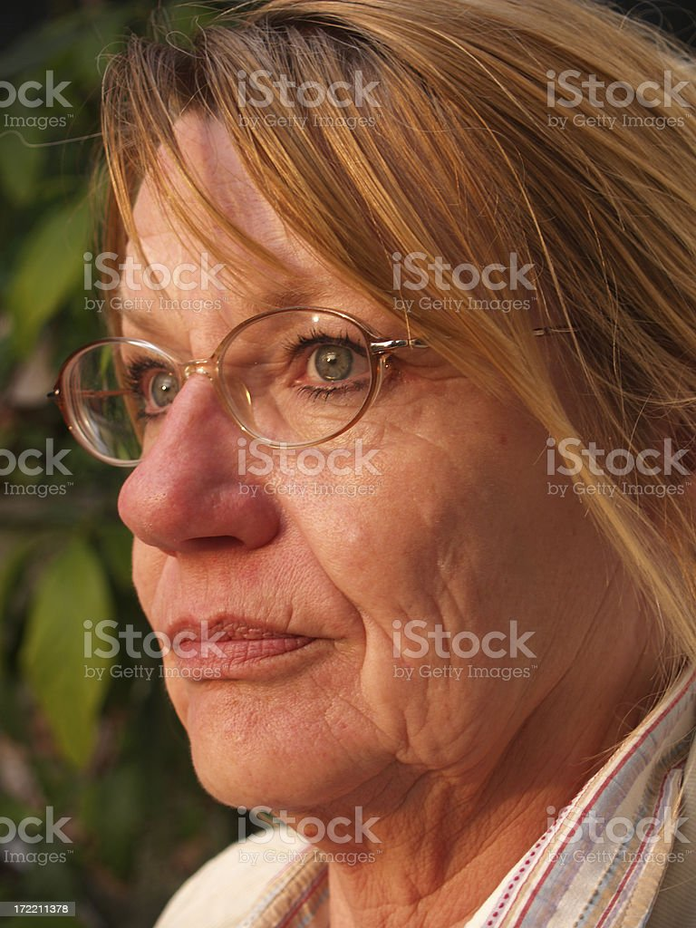Aging Beautifully...... royalty-free stock photo
