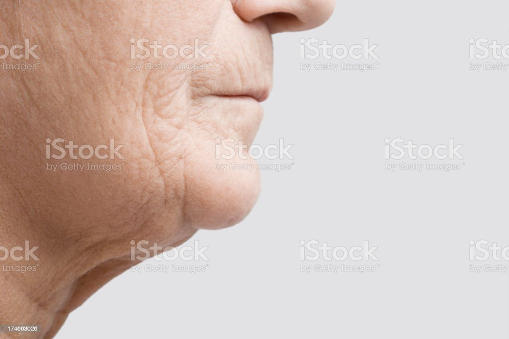 Aging royalty-free stock photo
