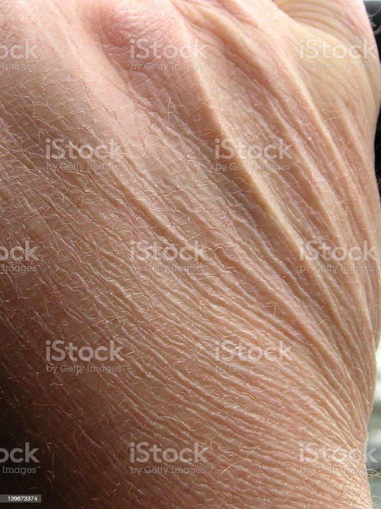 aging skin stock photo