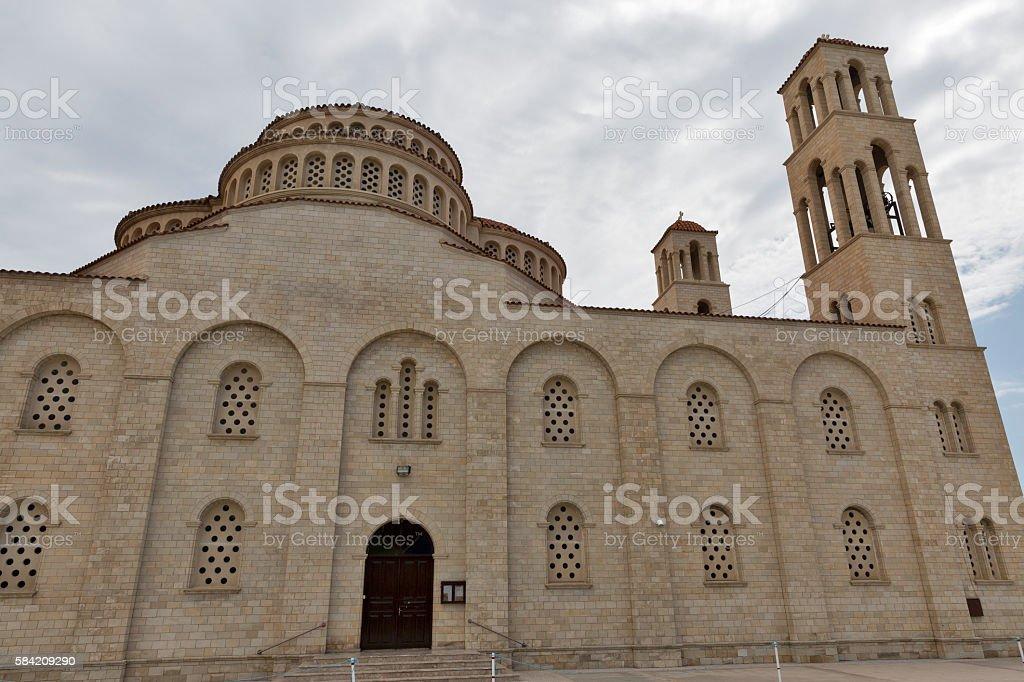 Agioi Anargyroi Orthodox Cathedral in Paphos stock photo