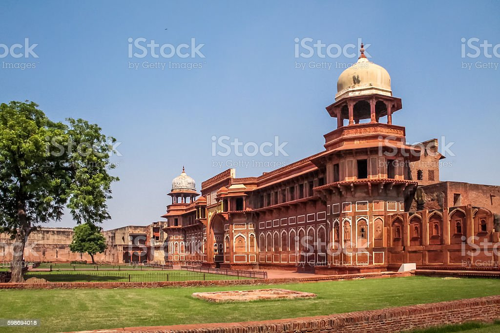 Agra Fort - Agra, India stock photo