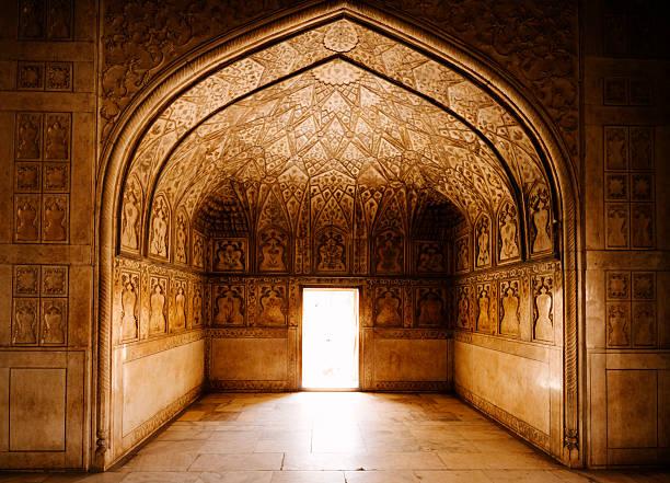 Agra Fort, India stock photo