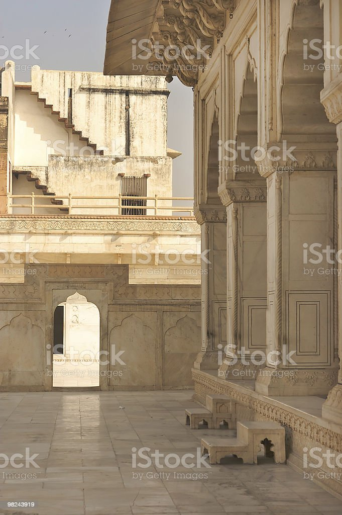 Agra Fort India royalty-free stock photo