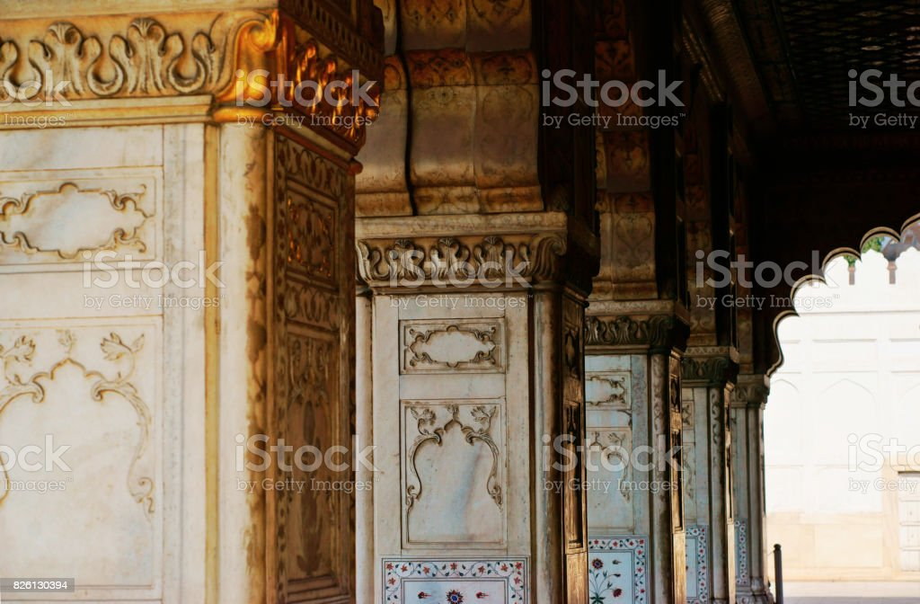 Agra Red Fort stock photo