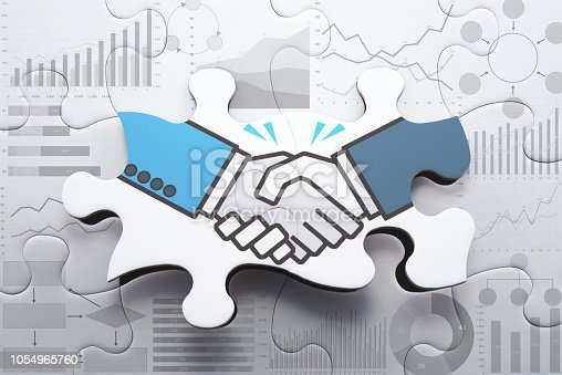 istock Agreement, consensus building and strategic partnership concept. 1054965760