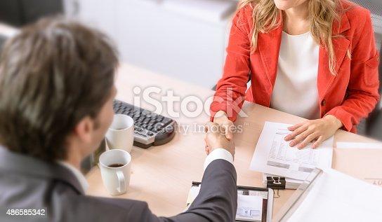 istock Agreement 486585342