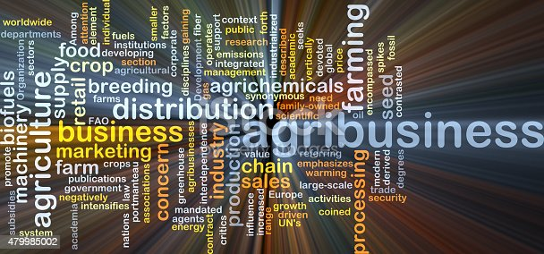 istock Agribusiness background concept glowing 479985002