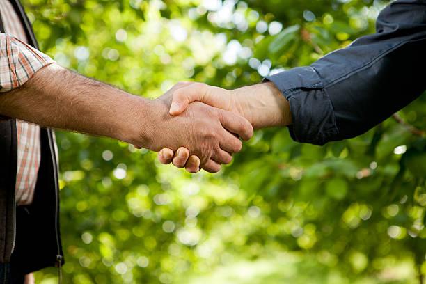 Landwirtschaftliche Vereinbarung – Foto