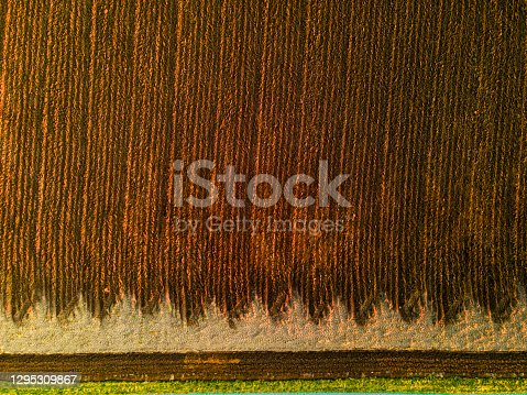 Agricultural work ,  air photography