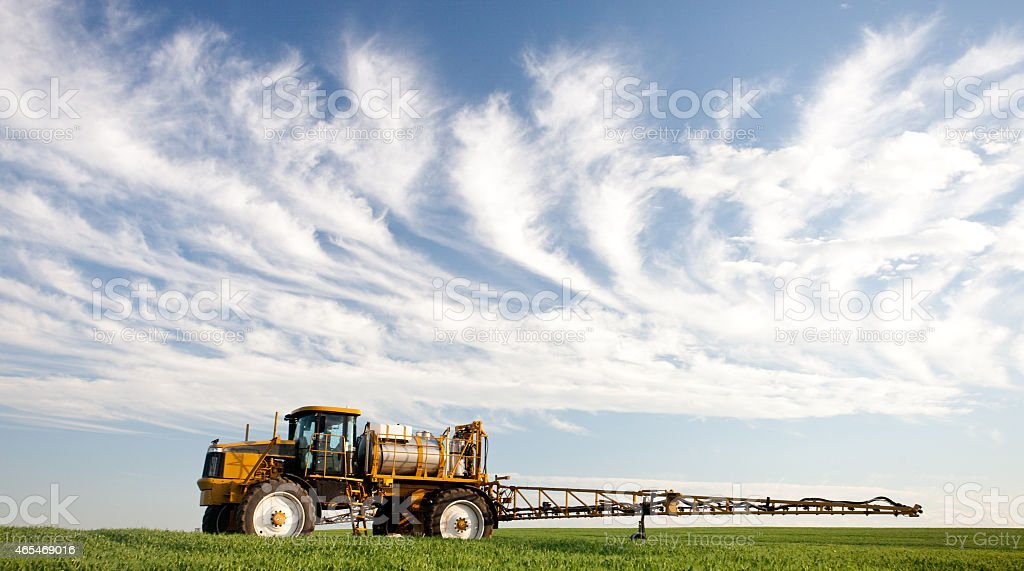 Agricultural Crop Sprayer stock photo