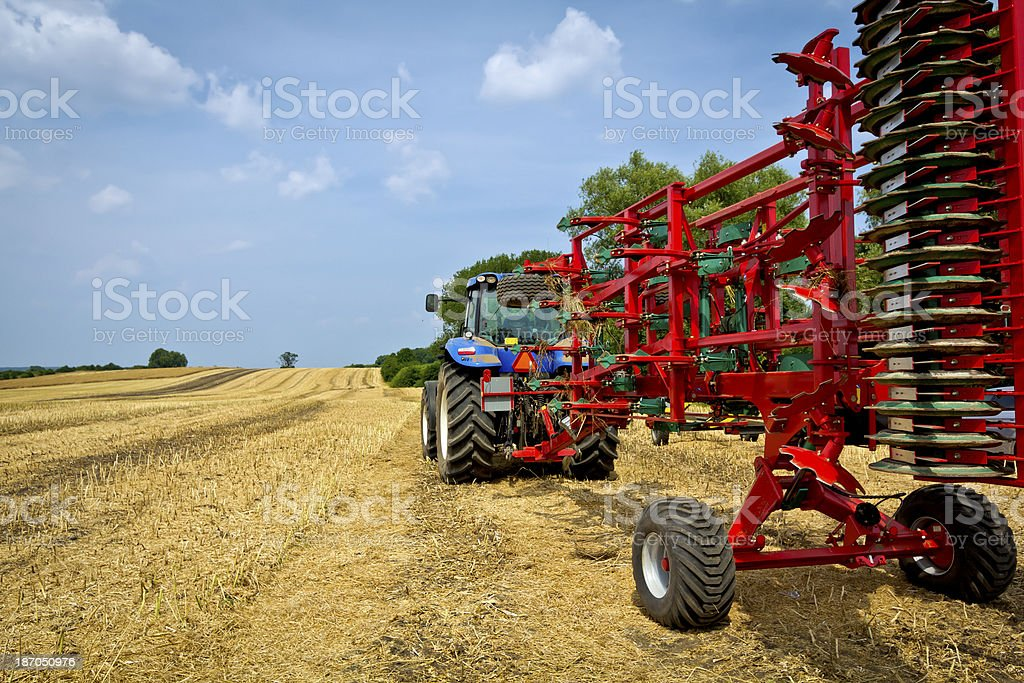 Agricultural equipments royalty-free stock photo