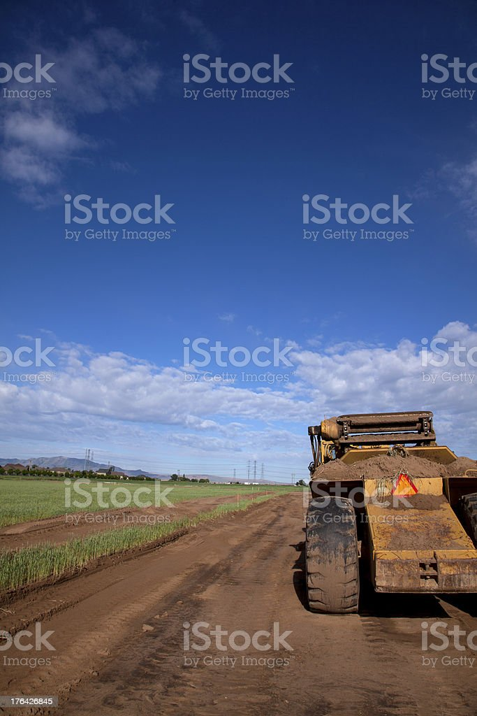 Agricultural Land Development Becomes A Subdivision royalty-free stock photo