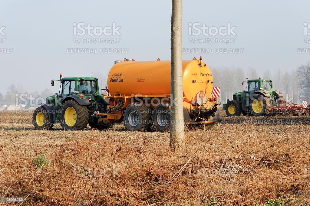 Agricultural machinery royalty-free stock photo