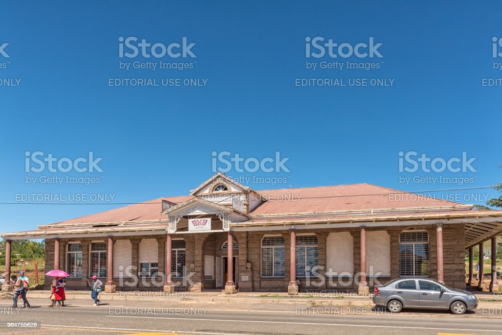 Agricultural retailer in Cedarville in the Eastern Cape Province royalty-free stock photo