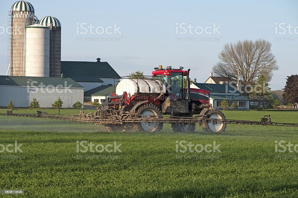 Agricultural Spraying Equipment royalty-free stock photo