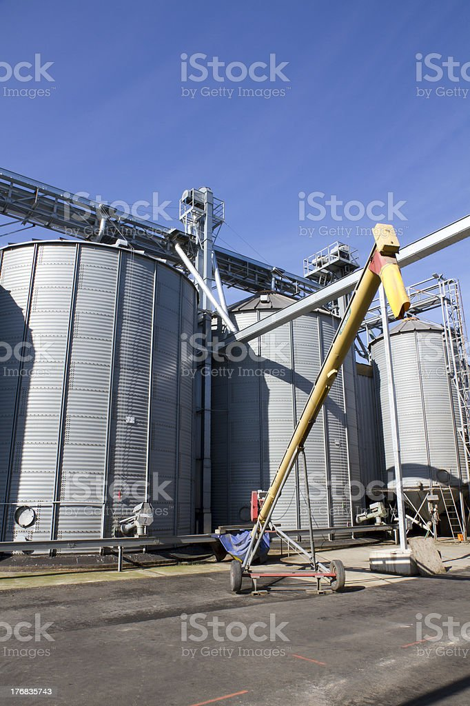 Agricultural Storage stock photo
