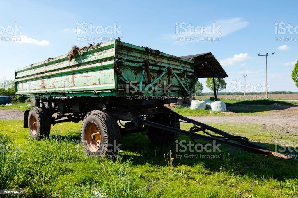 농업 예고편 royalty-free 스톡 사진