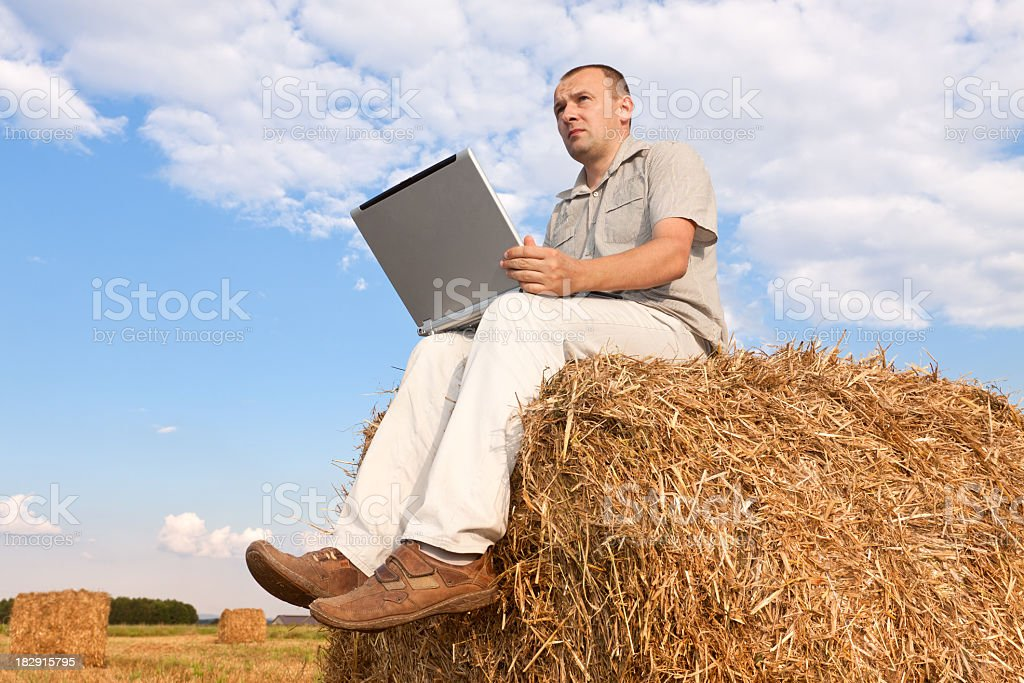 Agriculture business royalty-free stock photo