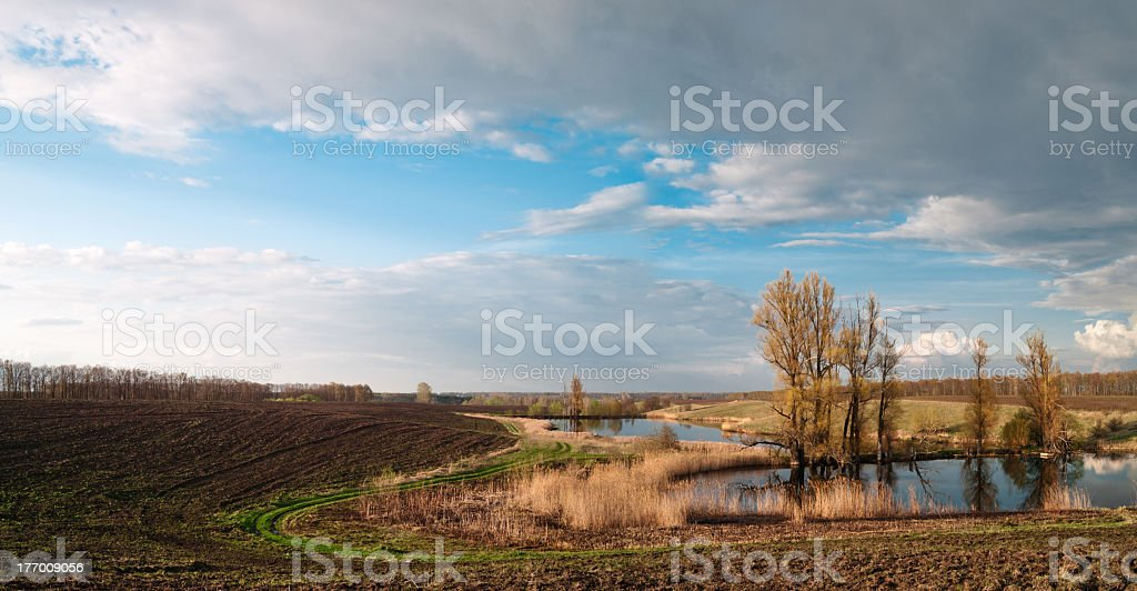Agriculture in Ukraine. royalty-free stock photo