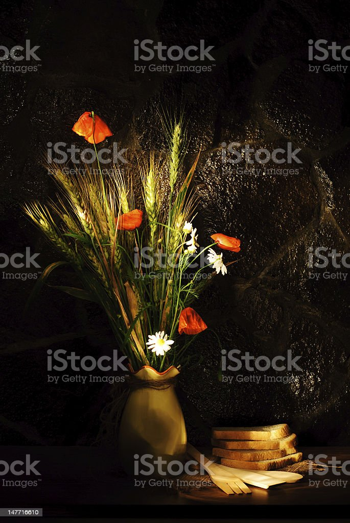 Agriculture still life royalty-free stock photo