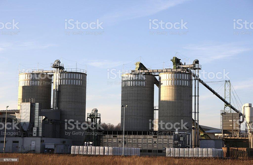 Silos de l'Agricutlture photo libre de droits