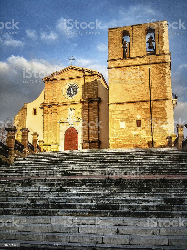 Agrigento Cattedrale - foto stock