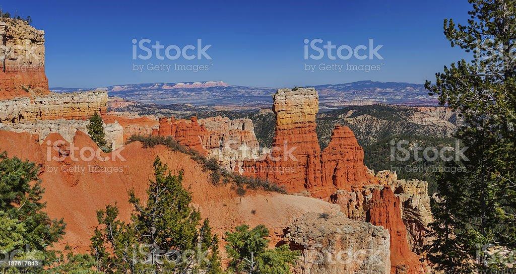 Agua Canyon, Bryce royalty-free stock photo