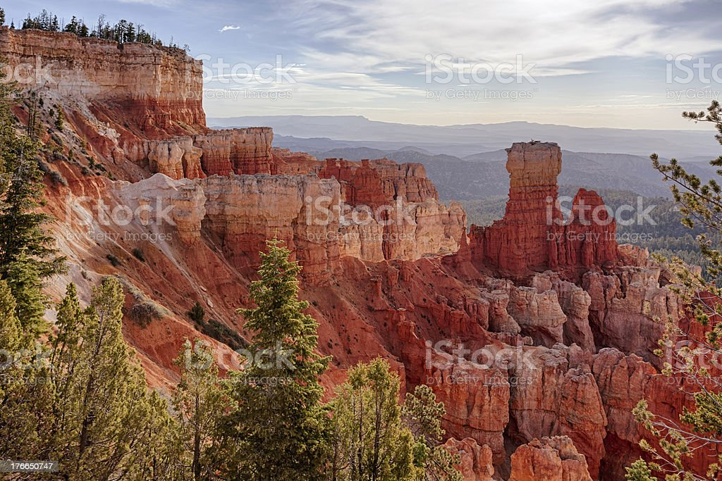 Agua Canyon landscape royalty-free stock photo