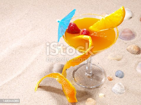 """Agua de Valencia"" is a  Valencian cocktail made with orange juice, cava (champagne), vodka and gin."