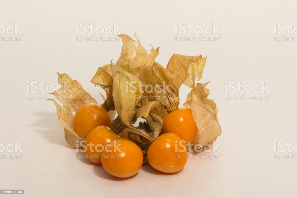 Coqueret - Physalis peruviana - Golden Berry nature morte - Photo de Aliment libre de droits