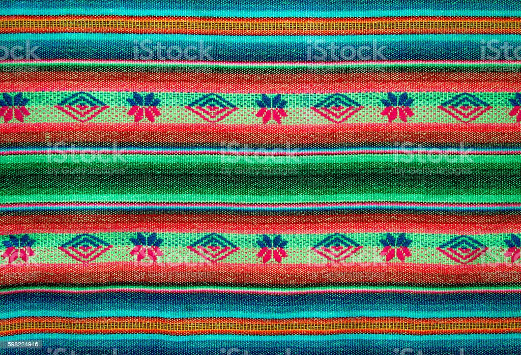Aguayo andean  loom foto royalty-free