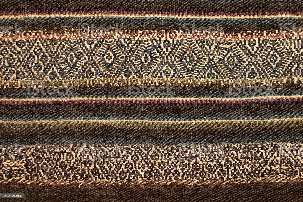 Aguayo Titicaca foto royalty-free