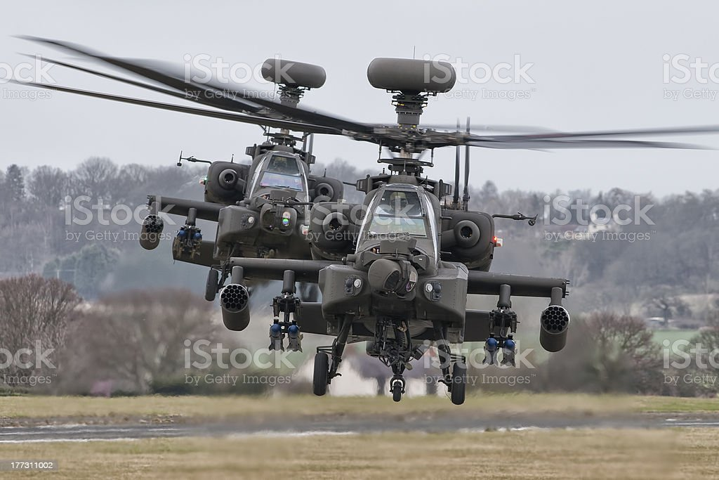 AgustaWestland Apache's AH Mk1 stock photo