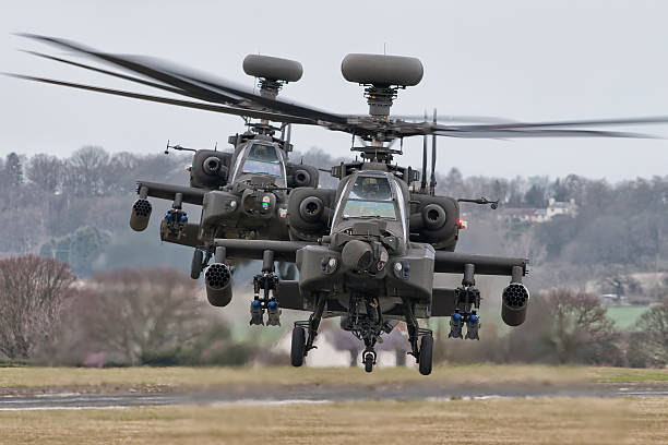 agustawestland apache's ah mk1 - uk military stock photos and pictures
