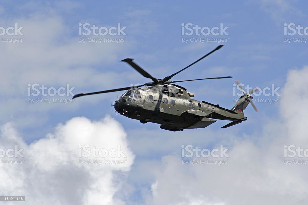 Agusta-Westland Merlin HC.3. stock photo