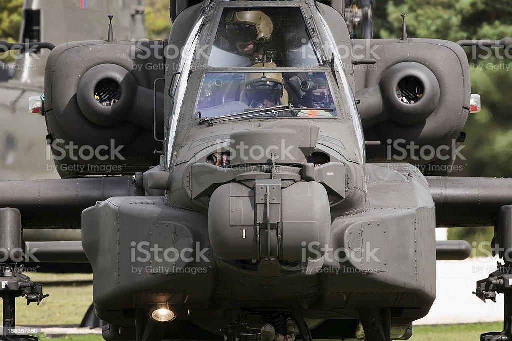 AAC AgustaWestland WAH-64D stock photo