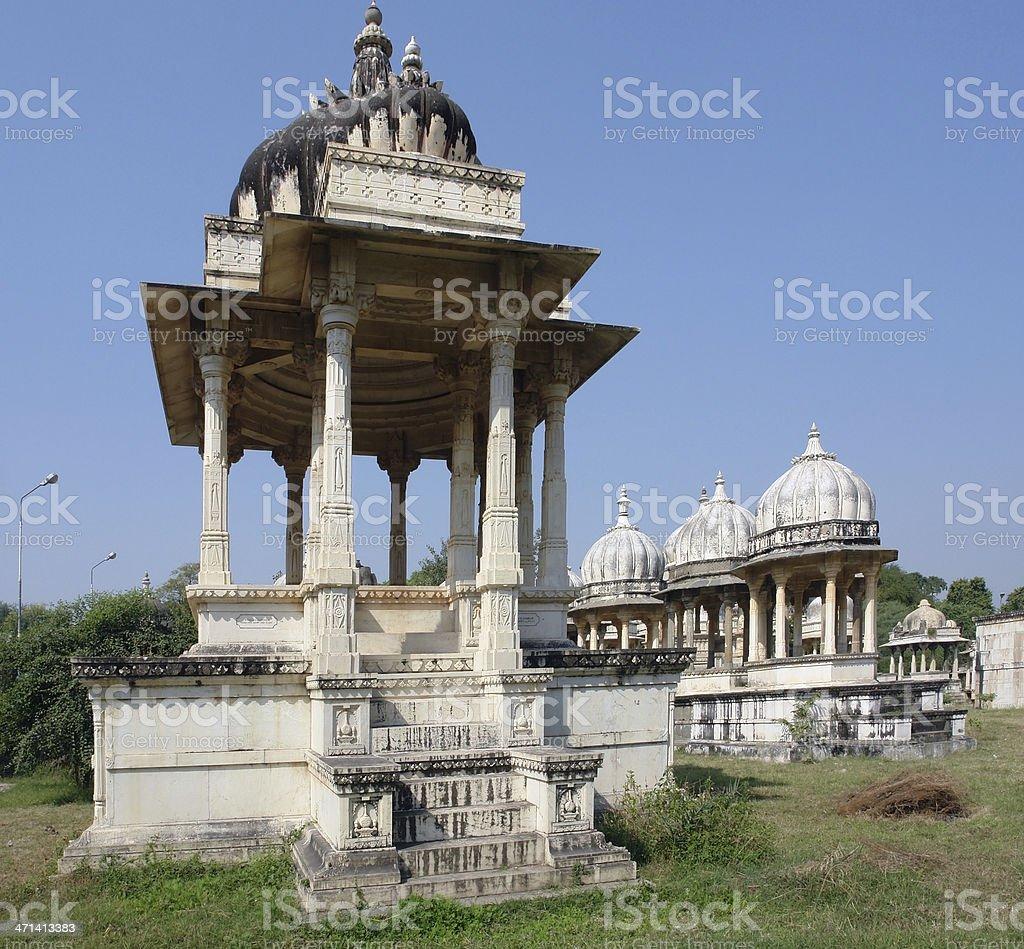 Ahar Cenotaphs stock photo