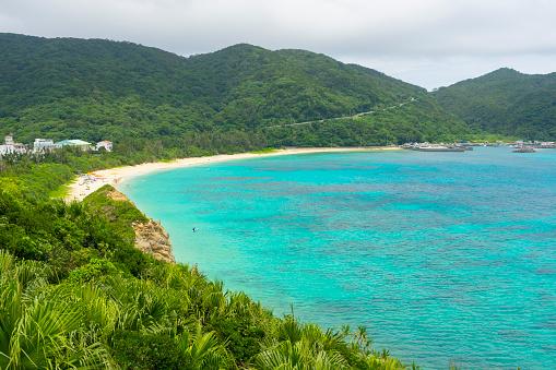 Aharen Beach On Tokashiki Island In Okinawa Japan Stock Photo - Download Image Now